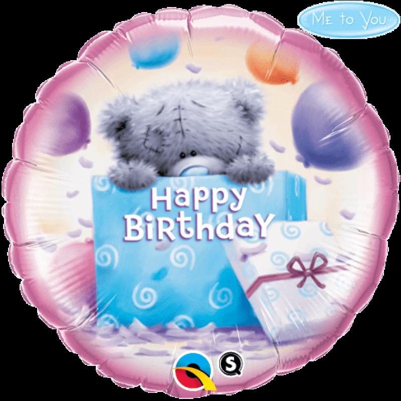 "18"" Foil Birthday Balloon with Helium"