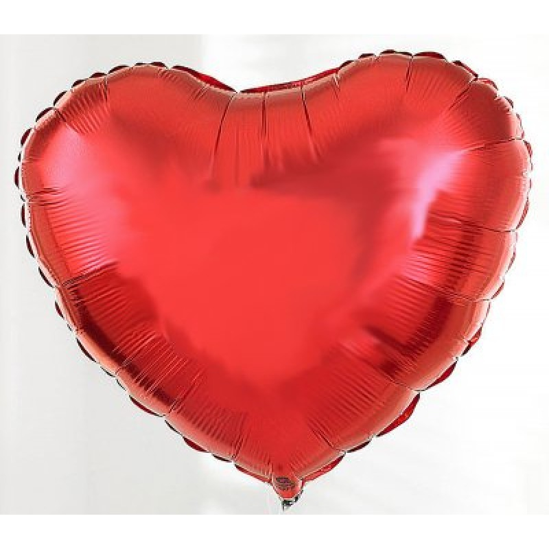 Foil Heart Balloon 18""