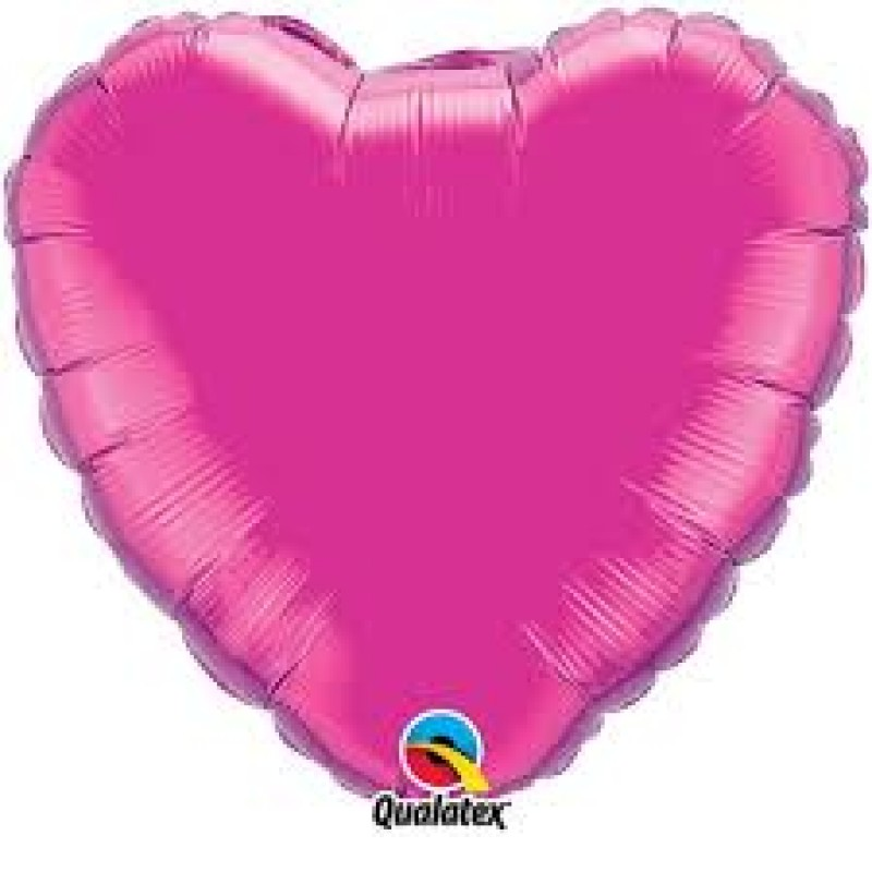 "18"" Pink Heart Shape Foil Balloon"