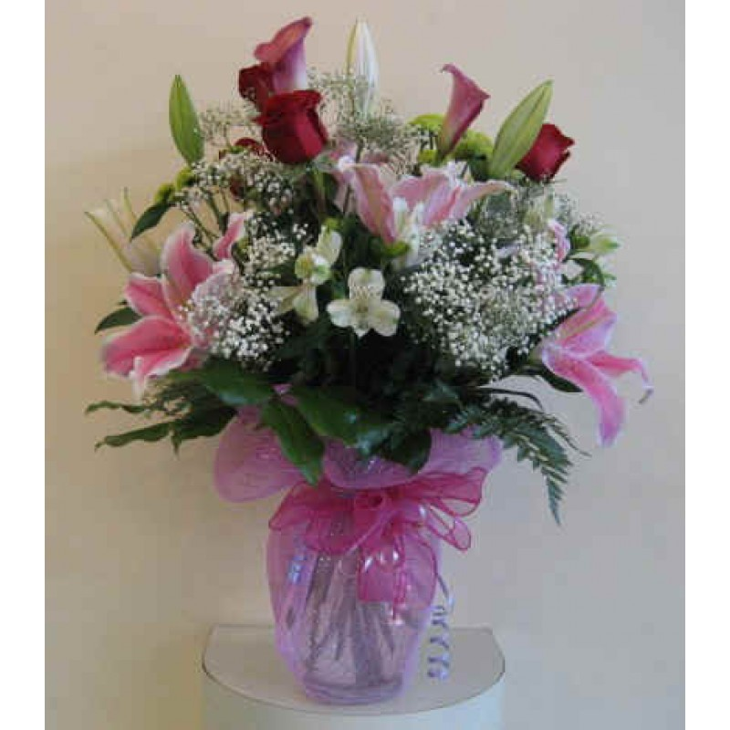 Pink Hand Tied Bouquet