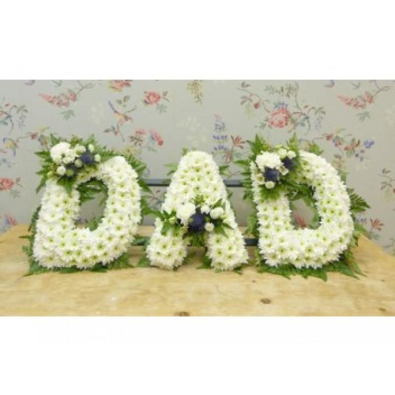 Letters D A D
